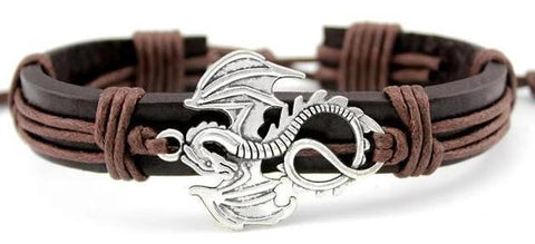 Dragon Leather Bracelet | Engaging The Dragon