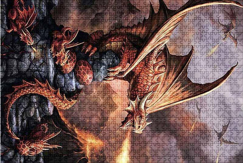 Dragon Spits Fire Puzzle | Engaging The Dragon