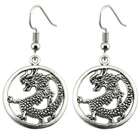 Earring Woman Dragon Loop | Engaging The Dragon