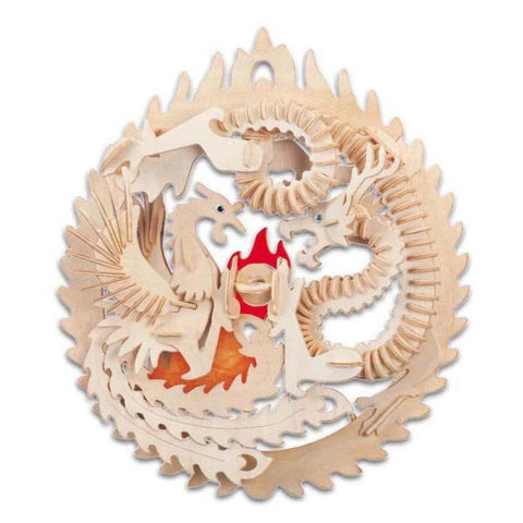 Educational Puzzle Wood | Engaging The Dragon