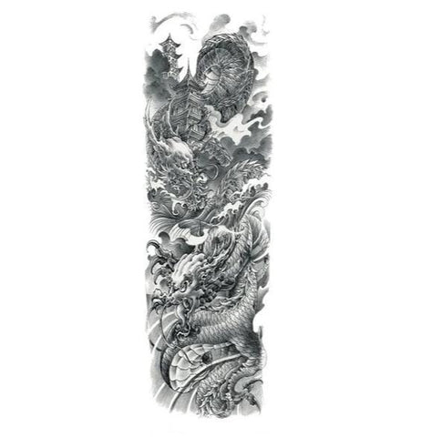 Ephemere Chinese Dragon Tattoo | Engaging The Dragon