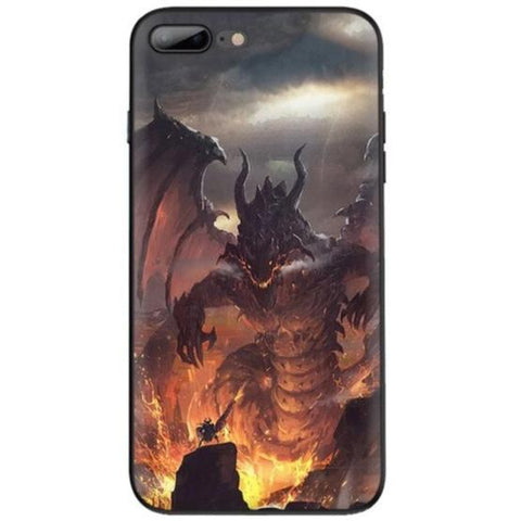 Flame Phone Case | Engaging The Dragon