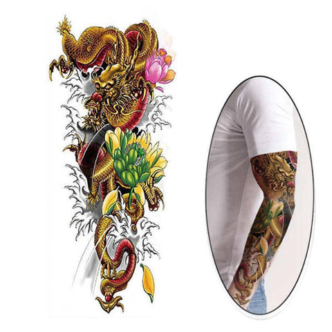 Flower Tattoo Ephemeral | Engaging The Dragon