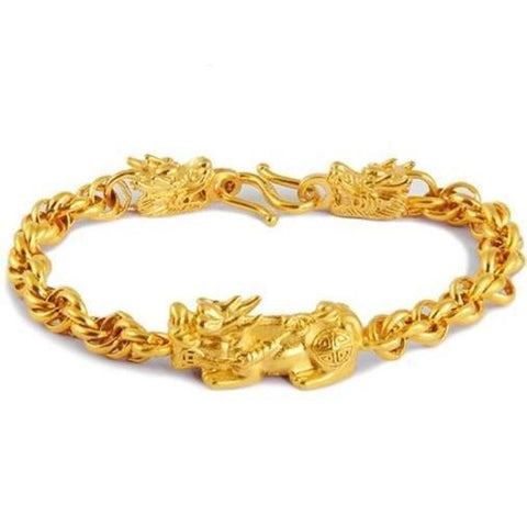 Golden Dragon Bracelet | Engaging The Dragon