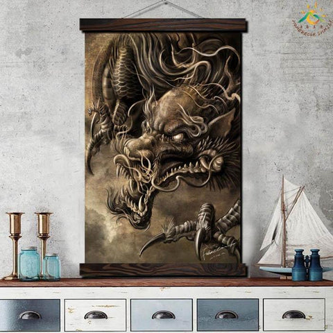 Wall Poster Dragon