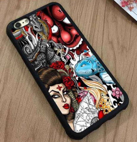Japanese Phone Case Iphone Phone Case | Engaging The Dragon