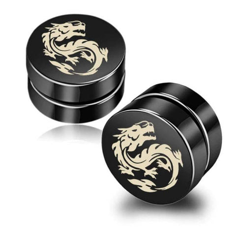 Loop Earring Magnetic Man | Engaging The Dragon