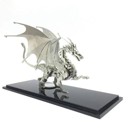 Metal 3D Puzzle | Engaging The Dragon