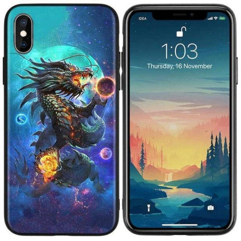 Moon Phone Case | Engaging The Dragon