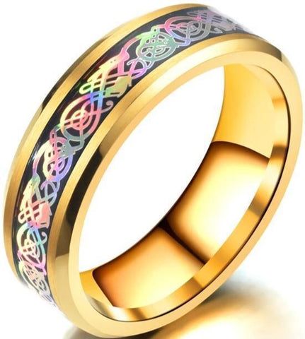 Multicolored Ring | Engaging The Dragon