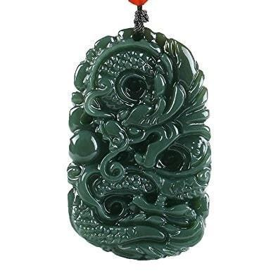 Necklace Jade Dragon | Engaging The Dragon