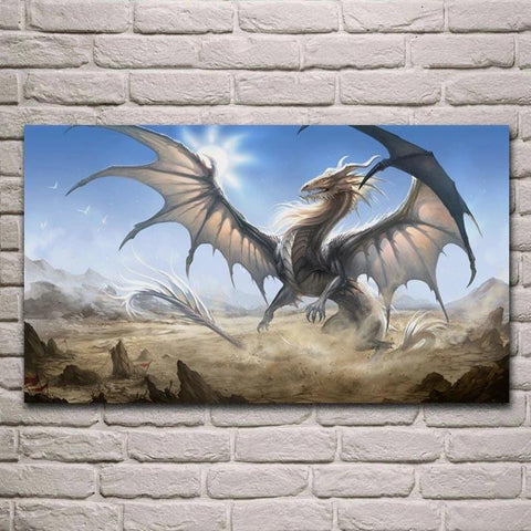 Dragon Wing Painting