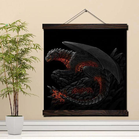 Poster Black Dragon