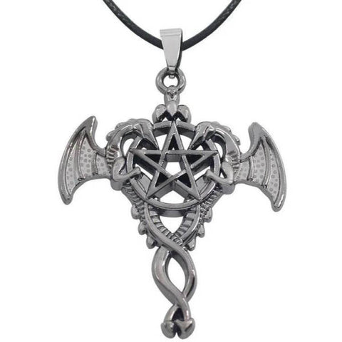 Pentagram Pendant Dragon | Engaging The Dragon