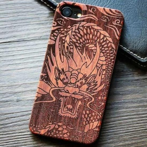 Phone Case Wood Iphone Phone Case 7 | Engaging The Dragon