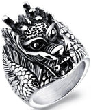 Ring Animal Head | Engaging The Dragon