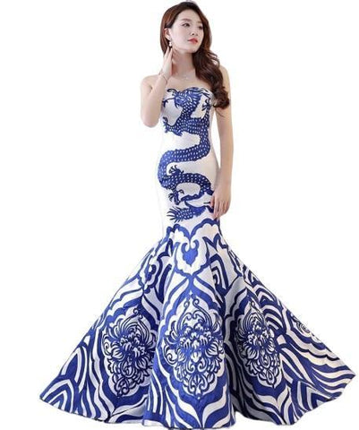 Dragon Evening Dress
