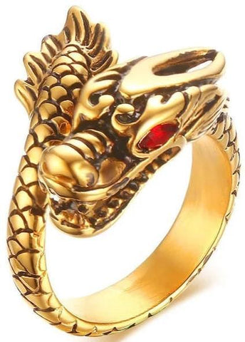 Small Dragon Ring | Engaging The Dragon