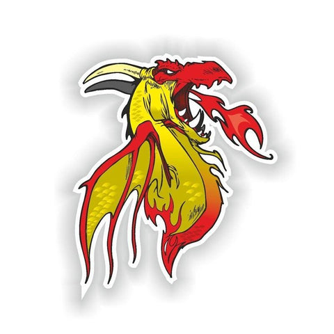 Stickers Dragon Fire