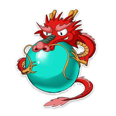 Stickers Red Dragon