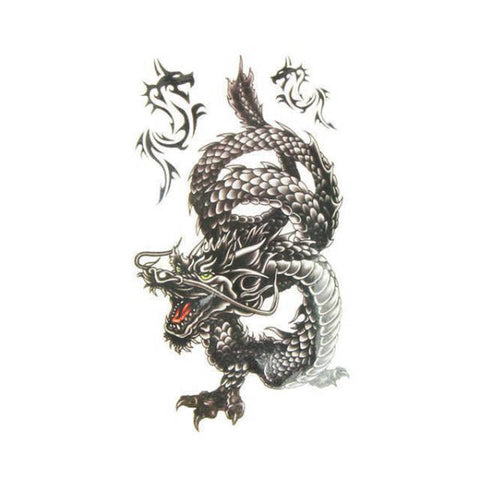 Temporary Tattoo Japanese Dragon | Engaging The Dragon