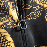Jacket With Dragon Pattern