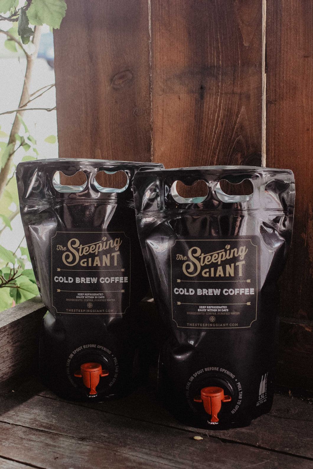 Steeping Giant Cold Brew Coffee 50oz Pouches (set of 2)