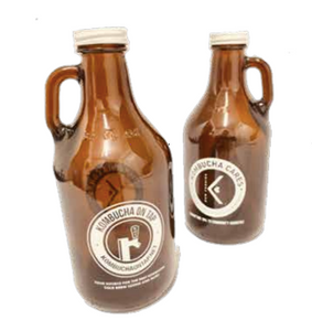 64 oz Growler of Kombucha or Cold Brew On Tap