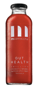 M Kombucha Gut Health Bottles (12-Pack)