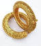 Pretty Flamy Gold Plated Designer Bangles