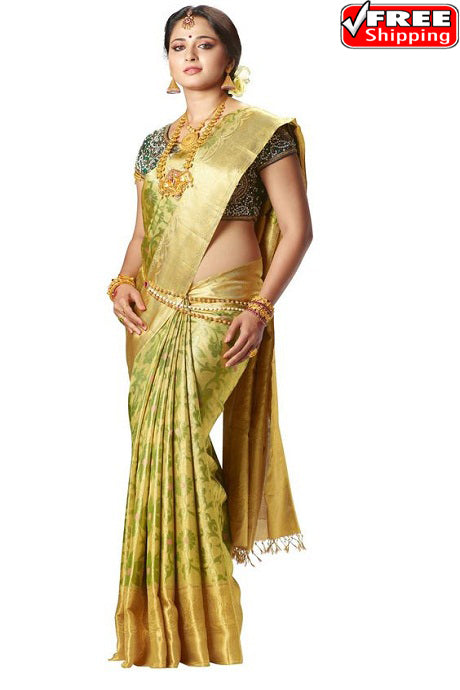 Amazing C Green Color Designer Soft Silk Sarees,Sari