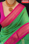 Admirable Parrot and Rani Color Soft Silk Designer Sarees