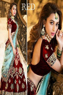 Bollywood Styale Maroon New Francy Lenghacholi