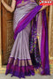 Stylish Purple Color Soft Silk Designer Sarees,Sari