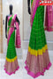 Trendy Green Color Soft Silk Designer Sarees,Sari