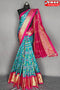 Trendy Light Firoji Color Soft Silk Designer Sarees,Sari