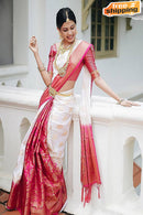 Glowing Multi Color Soft Silk Designer Function Saree