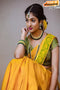 Heavy Yellow Color Soft Silk Designer Sarees