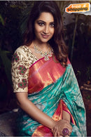 Elegent Multi Color Party Wear Soft Silk Designer Sarees