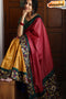Eye Catching Multi Color Soft Silk Designer Handloom Sarees