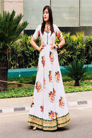 White Color Beautiful Designer Party wear Gown