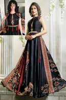 Attractive Designer Multi Color Anarkali Flared Gown Type Kurti