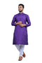 Latest New Fashionable Traditional Designer Men's ethanic Wear Pure Khadi Coton Kurta and Bottom Set