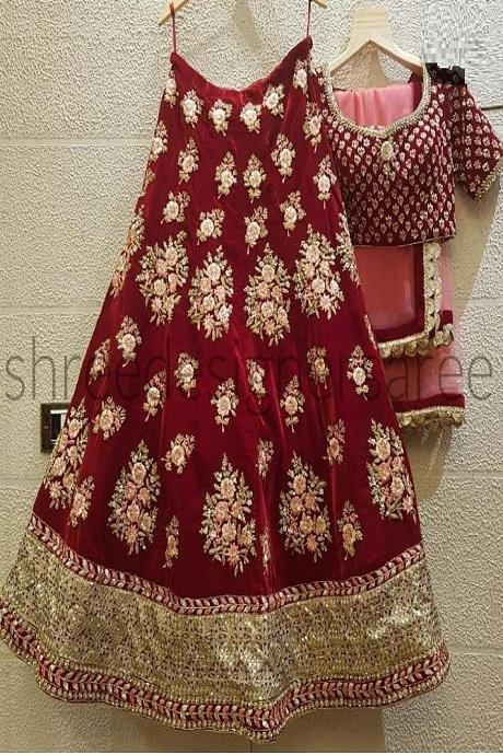 Amazing Red Colour New Styale Designer Lehengha