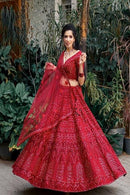 Enchanting Maroon Colored Soft Silk Lehenga Choli