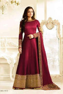 Awesome Red Color Attractive Designer Gown
