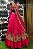 Enamoring Pink Colored Designer Lehenga Choli