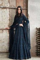 Navyblue Embroidered Attractive Party Wear Lehenga Choli