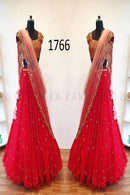 Bollywood Styale Red New Francy Lenghacholi