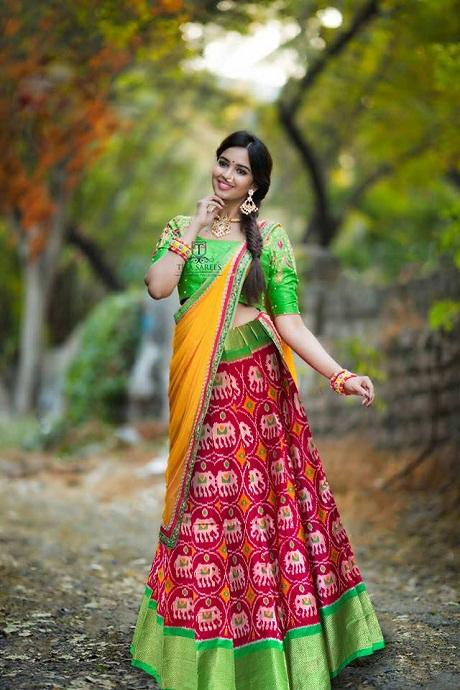 Alluring Red Colored Soft Silk Lehenga Choli
